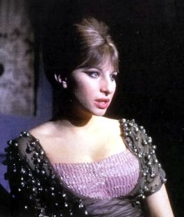the dress. Barbra Streisand in FUNNY GIRL, photo from BROADWAY MUSICALS: THE 101 GREATEST SHOWS OF ALL TIME
