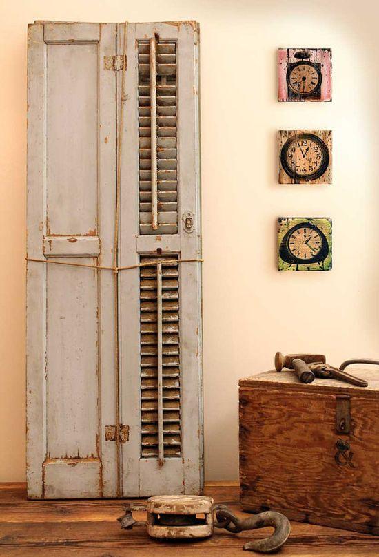 Reclaimed Wood Home Decor