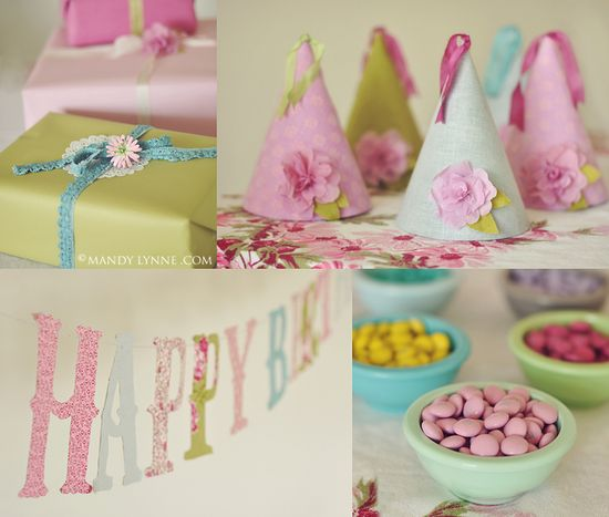 SO cute for a little girls birthday party! Make this banner with the silhouette.