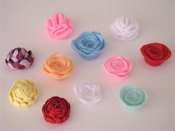 handmade flowers :)