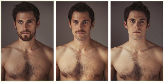 beards make you hotter. it's science