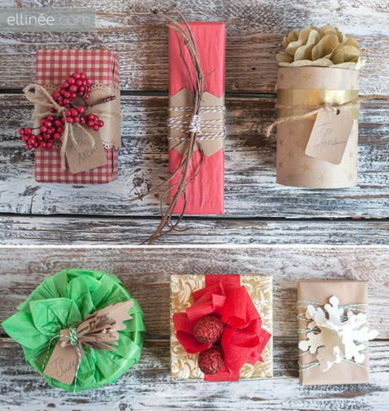 Dollar Store Creative Gift Wrap Ideas (part two)