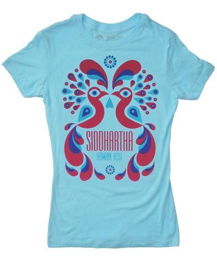 Siddhartha book cover t-shirt