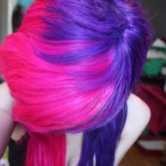 how to get pastel pink hair with splat