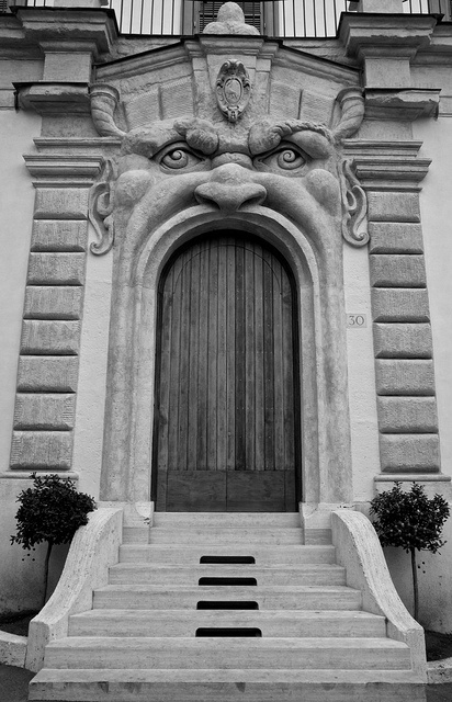 Mouth Door, Rome Italy .:!:.