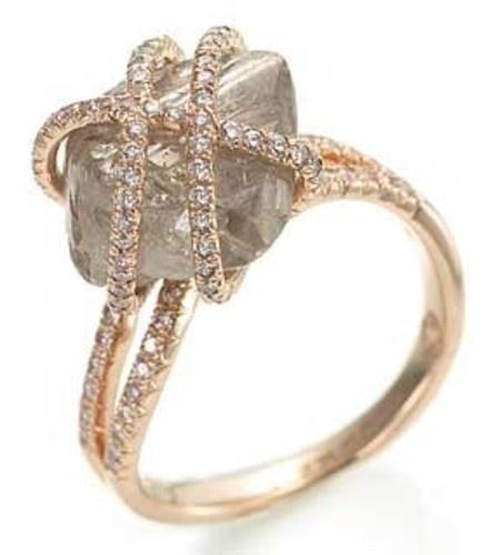 Love raw diamonds.