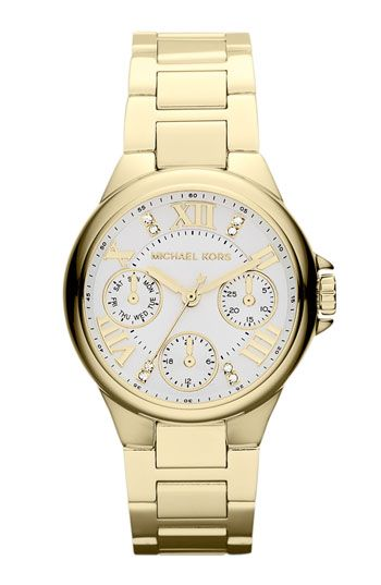 Michael Kors 'Mini Camille' Bracelet Watch available at #Nordstrom
