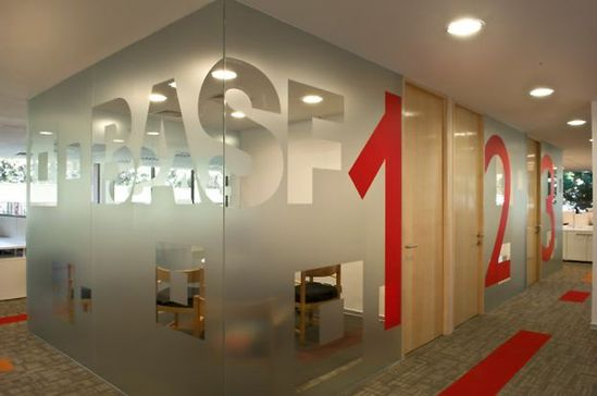 BASF office by Contract, Chile office design