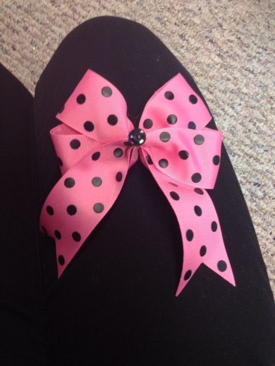 Cute handmade bow for my little!! Phi Sigma Rho