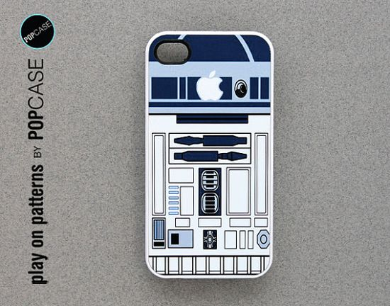 r2d2 iPhone 4s case iPhone 4 case iPhone 4s by playonpatterns, $14.99
