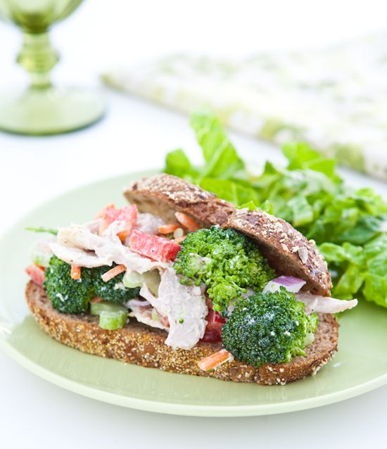Ranch Chicken Salad by EclecticRecipes.com #recipe