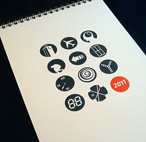 could be cool to use primarily icons / graphics...