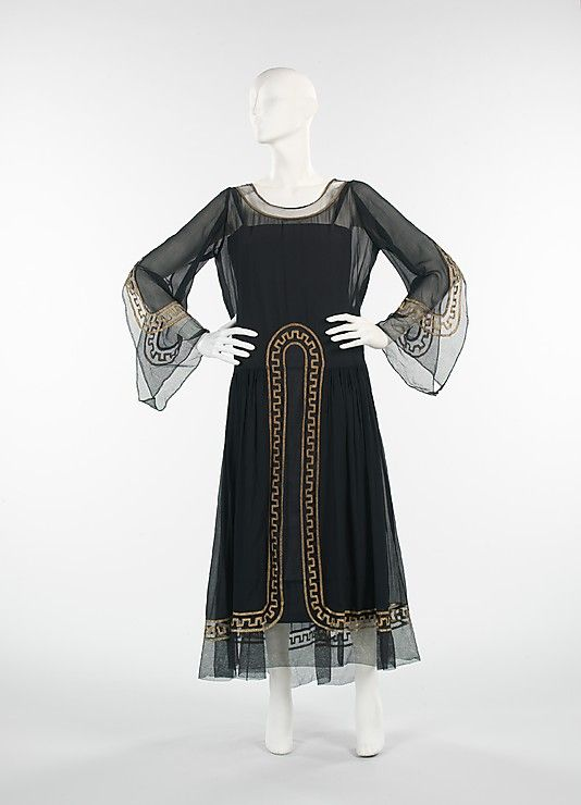 10-11-11  1925 Lanvin Evening Dress
