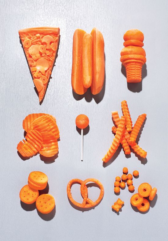 Carrot art. How carrots became the new snack food.