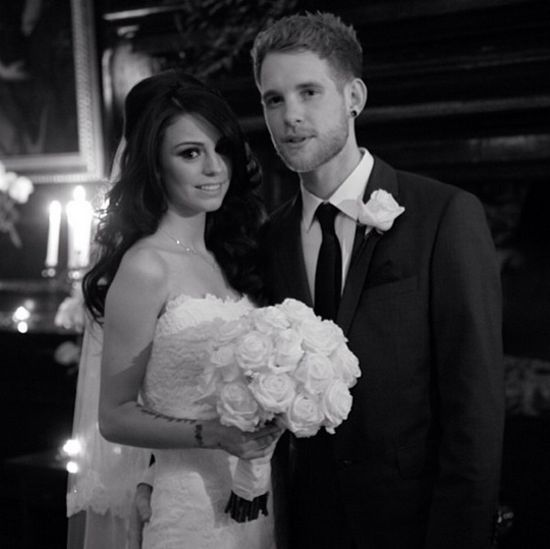 Cher Lloyd and Craig Monk Wedding Photo