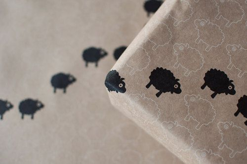 3 Sheets of Wrapping Paper - Featured Goods Uncovet