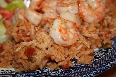 Deep South Dish: Southern Red Rice with Shrimp
