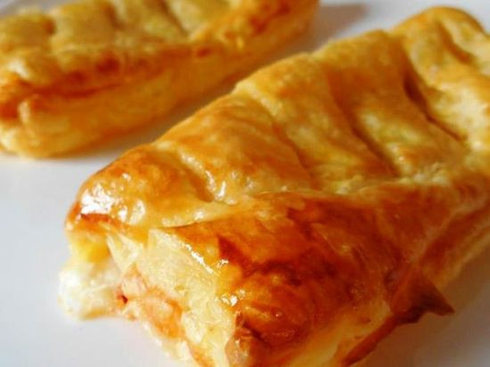Recette Entrée : Friands jambon & fromage par Lacuillereauxmilledelices