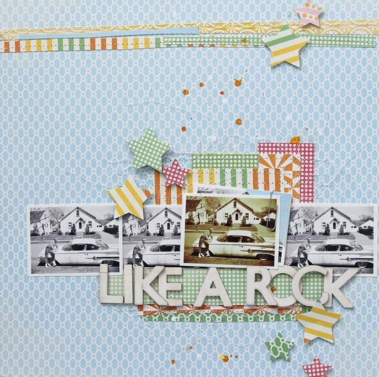 ~like a rock~ - Scrapbook.com