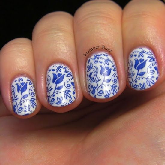 Instagram photo by lacquerbuzz  #nail #nails #nailart