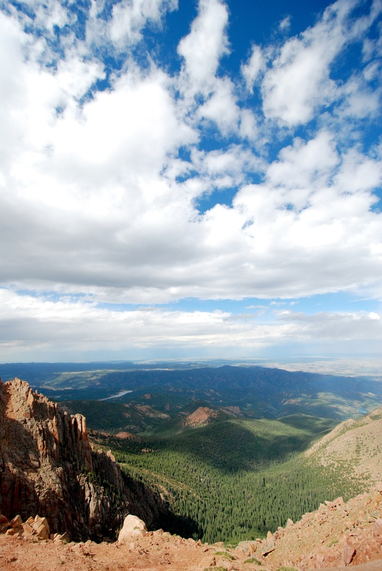Pikes Peak - Colorado. It's so beautiful out there!