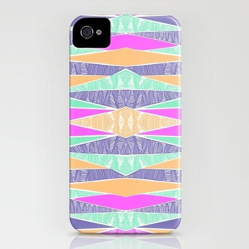 Pastel Tribal iPhone Case