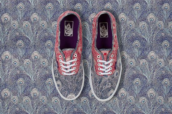 Vans x Liberty Art Fabrics 2013 Holiday Collection