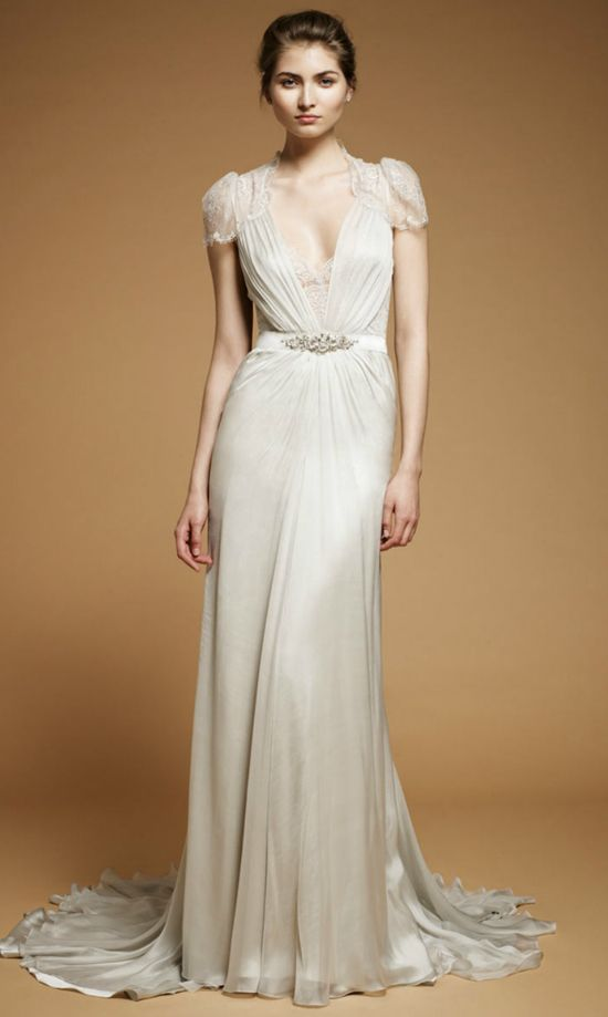 Love so much about this wedding gown