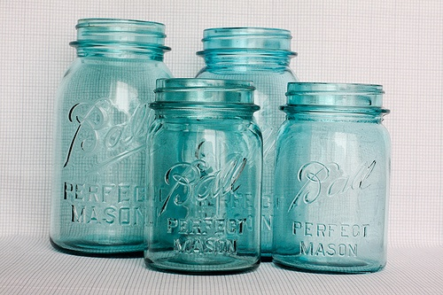 the return of the blue mason jar - life at cloverhill