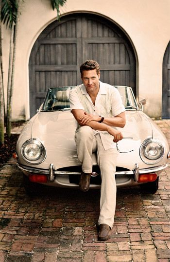 a man and his car...