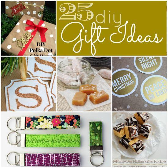 25 DIY gift ideas