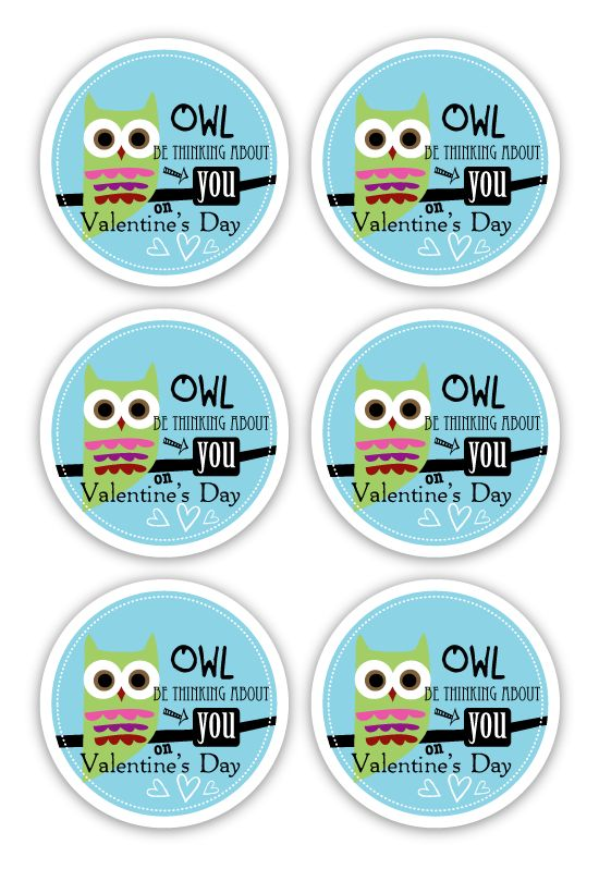 You know how i love owls...FREE Valentine's Printable
