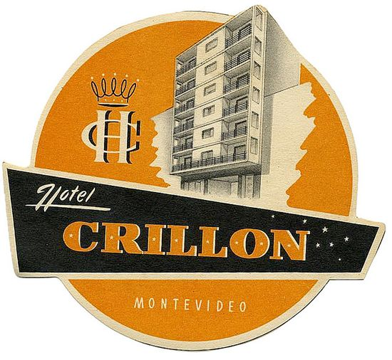 Hotel label #vintage #retro #graphic #logo #design