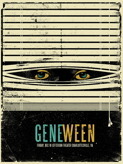 Gene Ween poster Design by HYP-INC.com, via Flickr