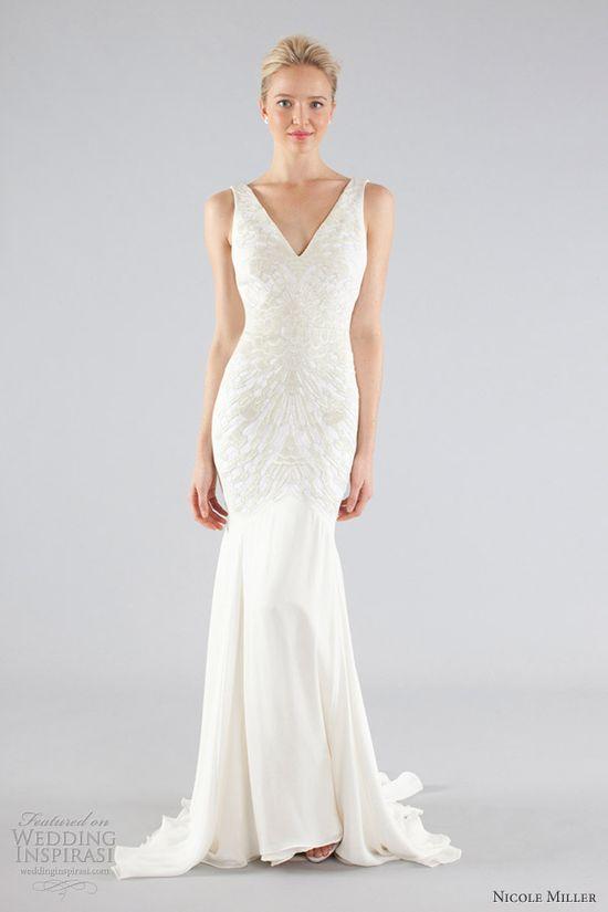 Nicole Miller Bridal Fall 2013 Wedding Dresses