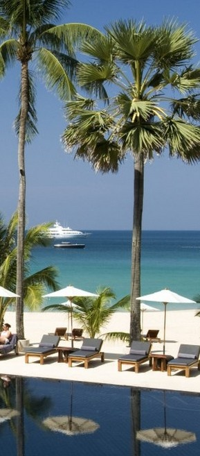 The Surin Phuket is a 5 star luxury beach resort in Thailand, nestled in peaceful seclusion on Phuket Island's finest shore, Pansea Beach.   Go to www.YourTravelVid... or just click on photo for home videos and much more on sites like this.