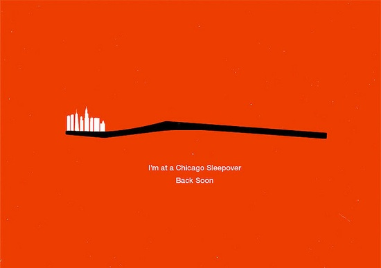 Chicago sleepover by Olly Moss