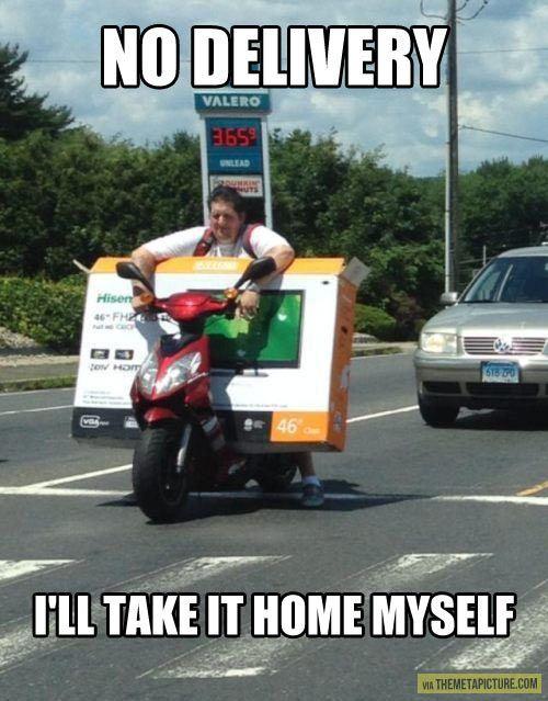 No delivery…