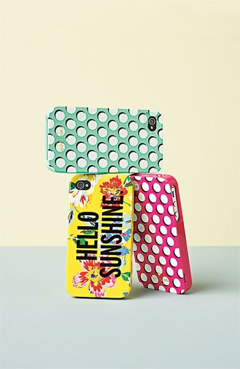 Tech Essential: kate spade new york 'hello sunshine' iPhone 5 case