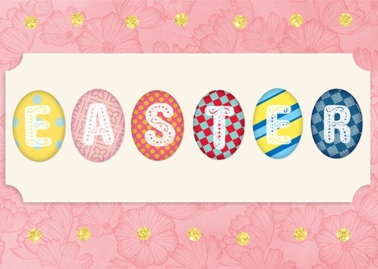 Download our Spring themed pack to create custom Easter cards and greetings.