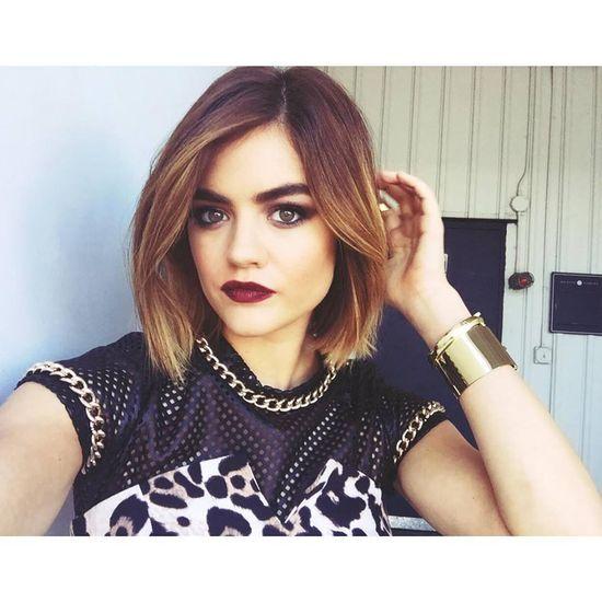 Aria Montgomery Short Hair