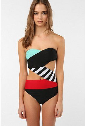 This bathing suit just may make me wear something other than a solid color