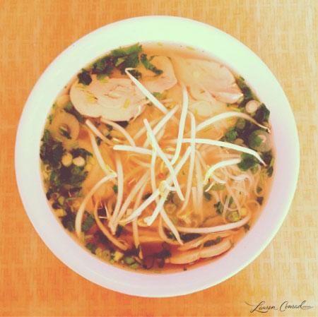 favorite fall dinner: pho #soup