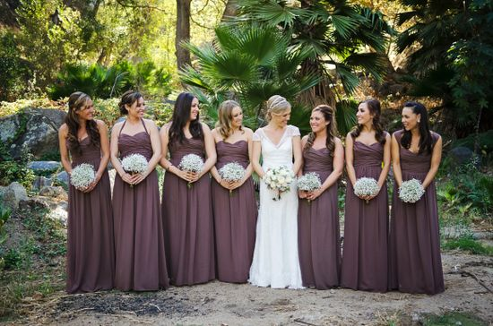 Rustic romantic wedding vibe