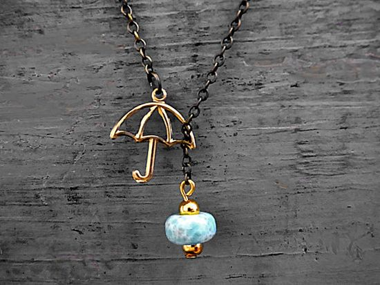 Summer Rain Turquoise Necklace *Love*