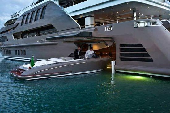 it's a boat inside a boat