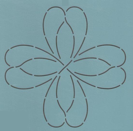 "Wishbone 11"" - The Stencil Company"