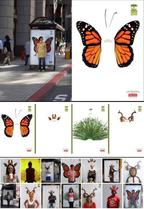 San Francisco Zoo ads.