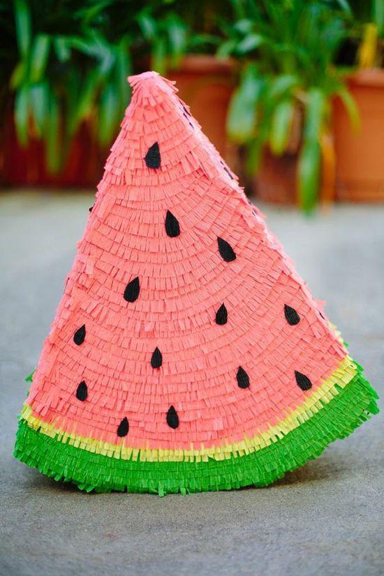 Watermelon Pinata DIY