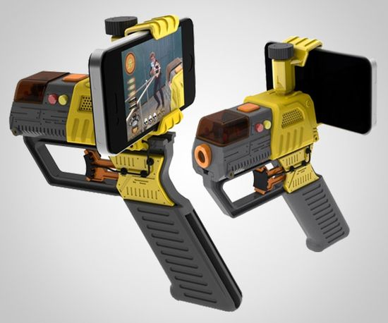 Laser Tag for your smart phone? So sick